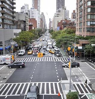 PolyPatch auf der 1st Avenue in New York