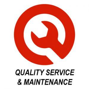 Logotipo de servicio de calidad Crafco