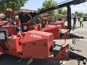 selection of Crafco equipment available for rental