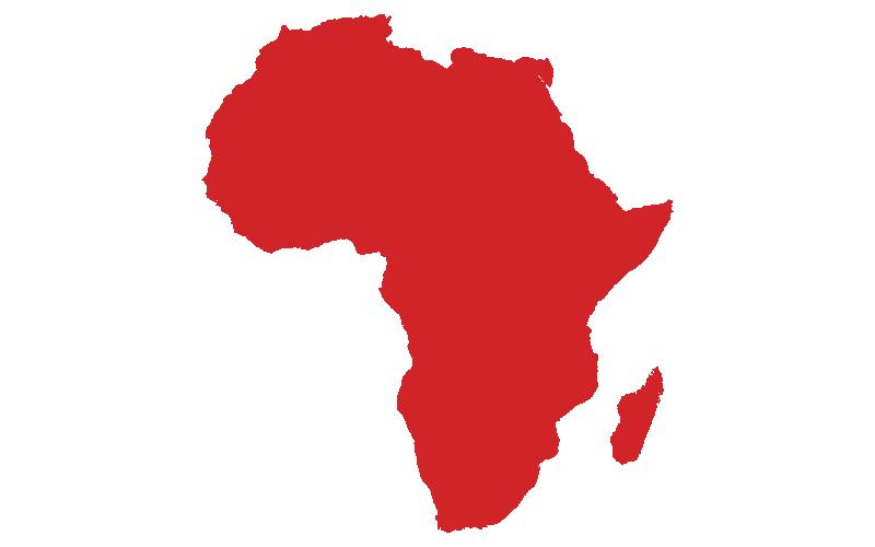 Región de ventas de Crafco - África