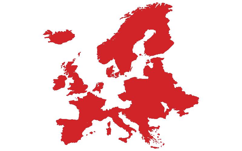Región de ventas de Crafco - Europa